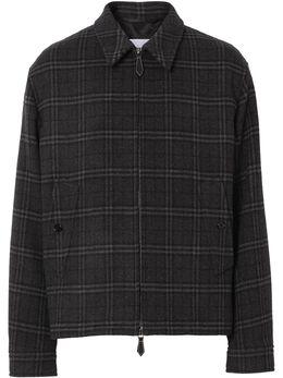 Burberry куртка Harrington в клетку 8041385