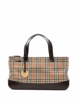 Burberry Pre-Owned сумка-тоут в клетку House Check SCN