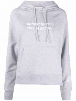 Helmut Lang худи Stay In School с принтом L02DW503FUEH