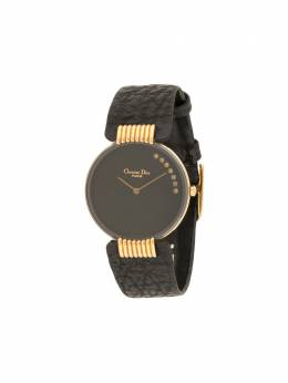 Christian Dior наручные часы Bagheera Black Moon pre-owned 30 мм 295484