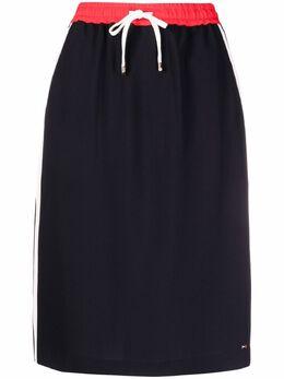 Tommy Hilfiger спортивная юбка-карандаш WW0WW30635