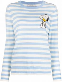 Chinti And Parker snoopy intarsia-knit sweater KW63