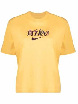 Nike embroidered-floral T-shirt DD1456