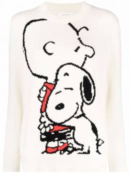 Chinti And Parker snoopy & charlie hug sweater KW72