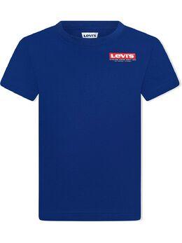 Levi's Kids TEEN logo-print cotton T-shirt 9EC857U29