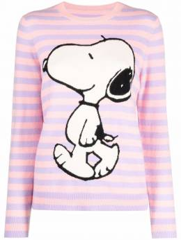 Chinti And Parker snoopy intarsia-knit cashmere sweater KW62