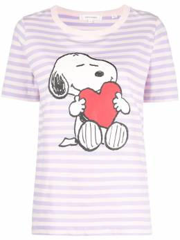 Chinti And Parker snoopy love breton T-shirt TW75