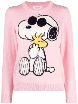 Chinti And Parker intarsia-knit snoopy jumper KW68