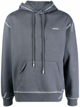 Ader Error hooded jersey sweatshirt HD02