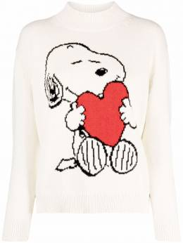 Chinti And Parker snoopy intarsia-knit sweater KW71