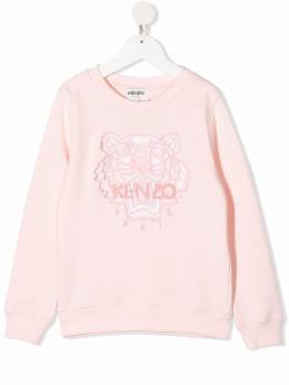 Kenzo Kids logo-embroidered sweatshirt K15072