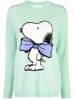Chinti And Parker snoopy-bow sweater KW64