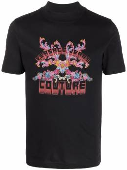 Versace Jeans Couture floral-print jersey T-shirt B3GWA73130454