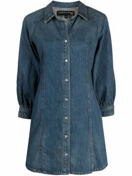 Veronica Beard long-sleeve denim dress J21027570921WF