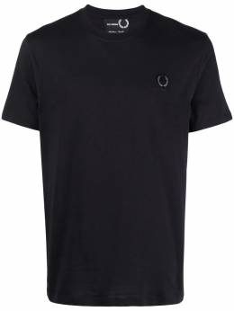 Raf Simons X Fred Perry logo-plaque T-shirt SM185538