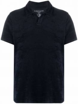 Majestic Filatures terry-cloth polo shirt M242HPO034