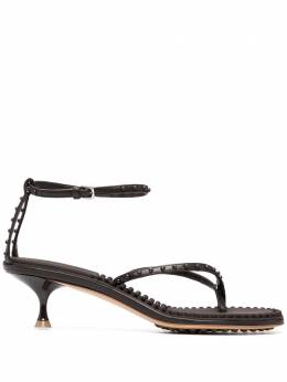 Bottega Veneta Lagoon Bubble leather sandals 659006V0U50