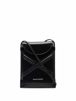 Alexander McQueen The Curve phone bag 6663621YB49