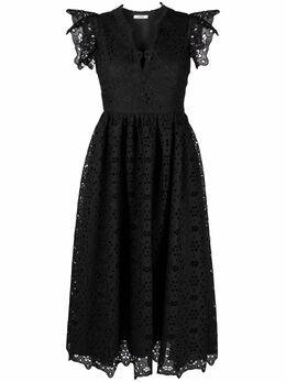 Vivetta платье миди с кружевной вышивкой V2MH2214832