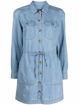 Veronica Beard long-sleeve denim dress J21049250987WF