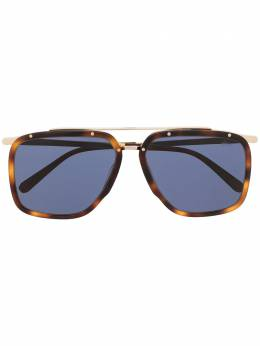 Brioni square aviator sunglasses ODC800P3ZAC