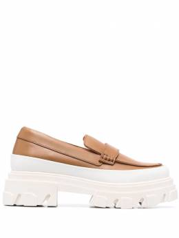 Ganni chunky sole loafers S1492