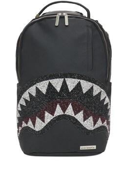 Рюкзак Из Искусственной Кожи С Принтом Sprayground 73ILZ0002-QkxBQ0s1