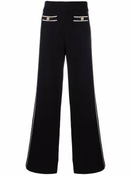 Salvatore Ferragamo side stripe wide-leg trousers 746445