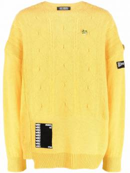 Raf Simons patchwork knitted jumper 211M835
