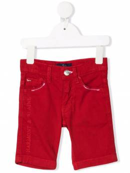 Harmont & Blaine Junior logo-embroidered shorts 212JW011