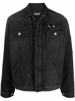 Raf Simons patch-detail denim jacket 211M730