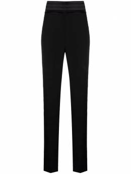 Manuel Ritz embellished pleated waistband trousers 3036PD07X21400899