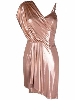 Elisabetta Franchi asymmetrical draped mini dress AB06611E2