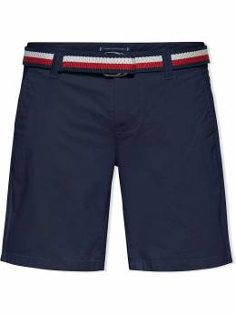 Tommy Hilfiger Junior belted chino shorts KB0KB05769C87