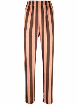 Manuel Ritz striped high-waisted trousers 3036PD0621403109