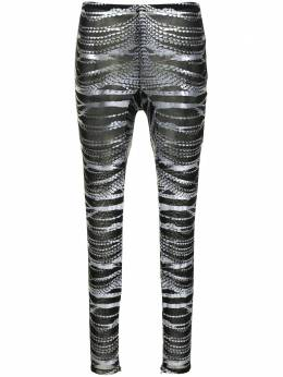 Area crystal-print leggings SS21P11103